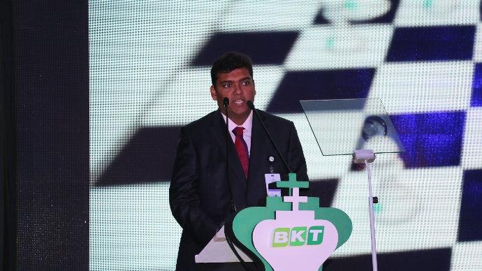 Rajiv Poddard, directeur général du groupe Balkrishna Industries Ltd