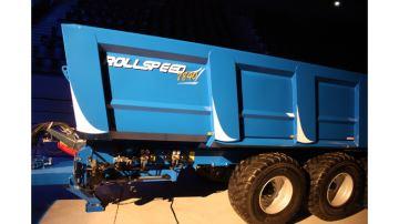 L'unique Rollspeed bleu pailleté: vendue!