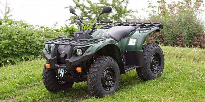 Yamaha Grizzly 450 >> Yamaha Grizzly un vrai petit tracteur homologué agricole