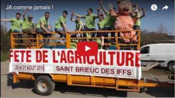 Les JA 35 chantent comme Jamais pour la Fête de l'agriculture