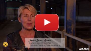 Le régional de l'étape: Marie-Laure Atzemis, éleveuse de limousines