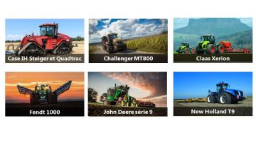 Les tracteurs les plus puissants au monde sous toutes les coutures