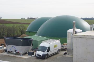 Boost de Evalor, des digesteurs plus petits et du gaz en plus
