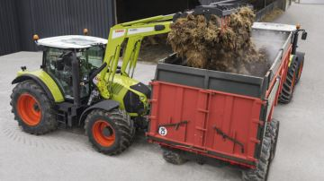 Claas Arion 640, un tracteur qui assure