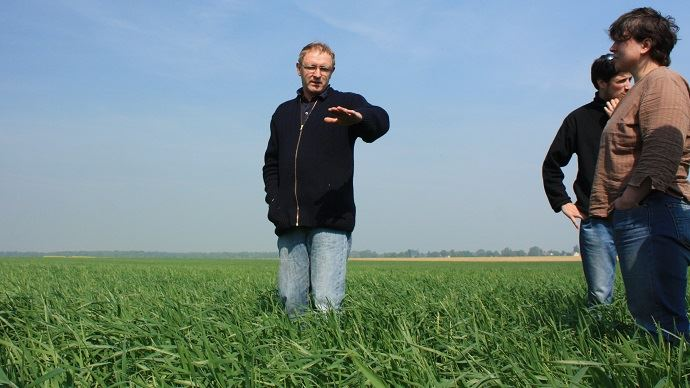 C'est dans les Hauts de France que la production biologique et son essor sont les plus faibles.