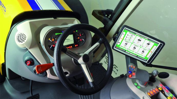 Mc Cormick ou Landini, optimisation de la conduite des tracteurs comme sur des voitures de course