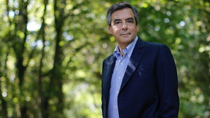 François Fillon, candidat à la primaire de la droite et du centre