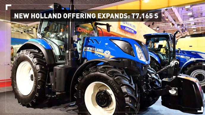 New Holland propose un Nouveau T7 165 en Version