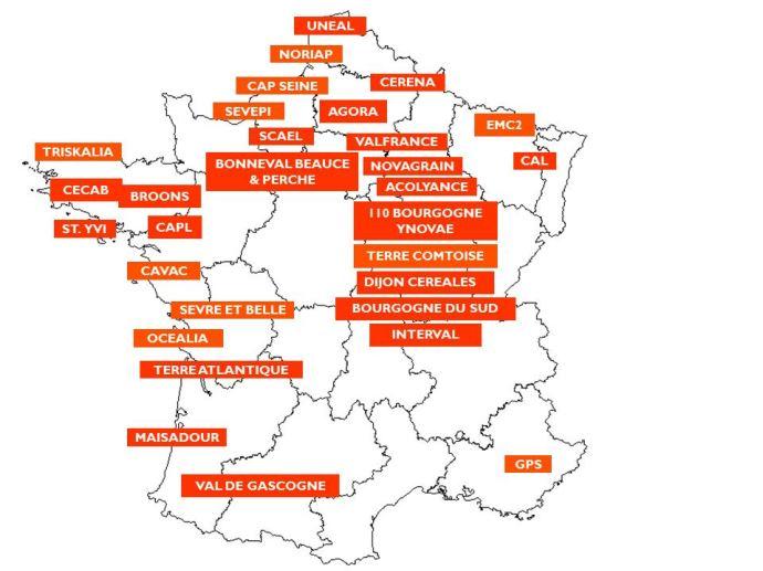31 coopératives en réseau forment la société Be Api.