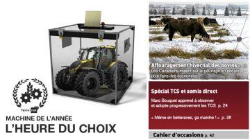 Machine de l'année 2017: les finalistes en élevage