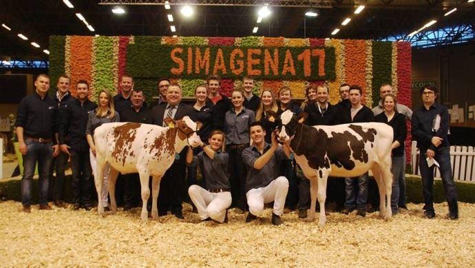 Vente Paris Dairy Sale au Simagena 2017