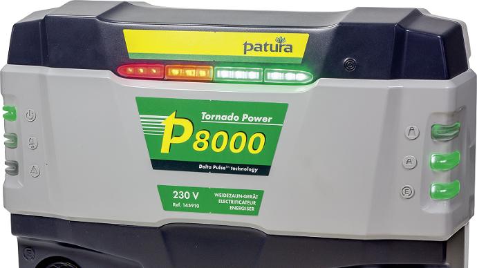 Patura P8000 Tornado Power, contrôlez la clôture avec votre smartphone
