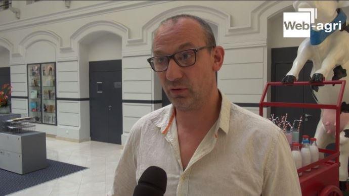 André Bonnard est producteur de lait dans la Loire, et secrétaire général de la FNPL.