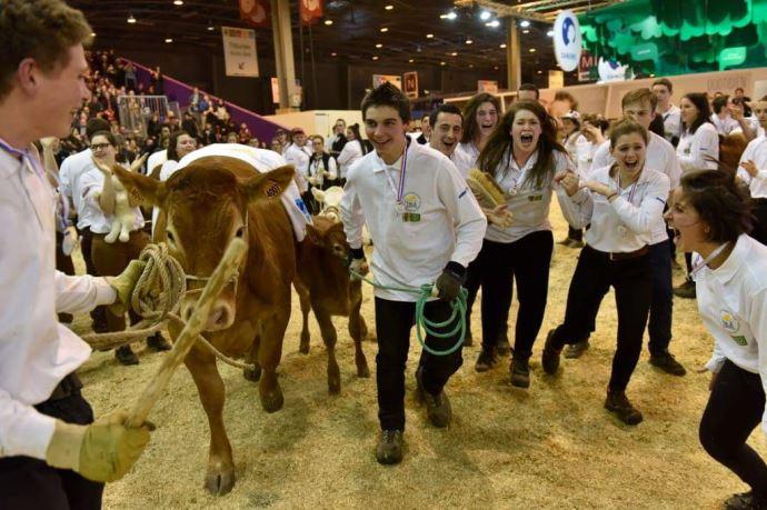 Les vainqueurs du Trophée national des lycées agricoles 2017