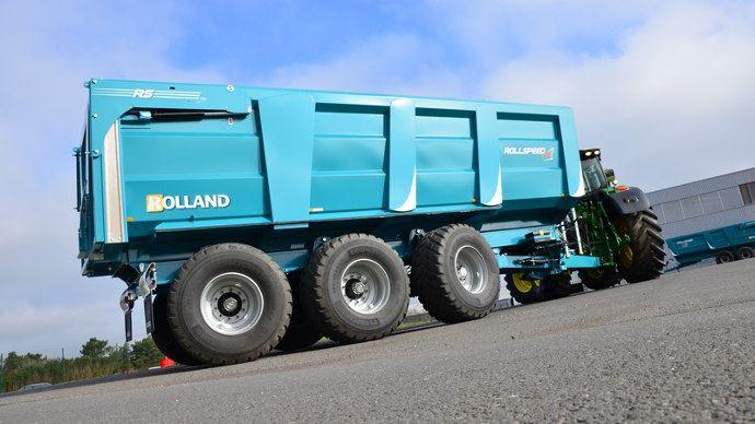 Rolland Rollspeed HD, plus de rehausse sauf pour l'ensilage