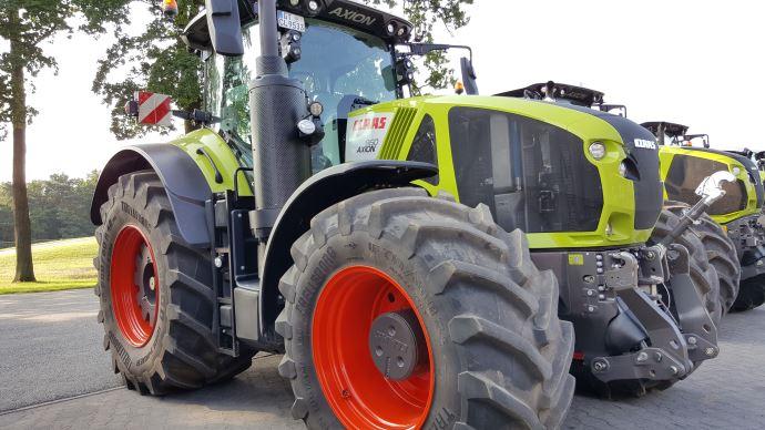 Tracteur Claas Axion 960