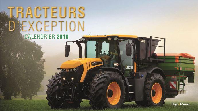 Calendrier des tracteurs d'exception 2018