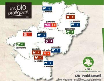 Assistez aux portes ouvertes des exploitations biologiques en Pays de la Loire
