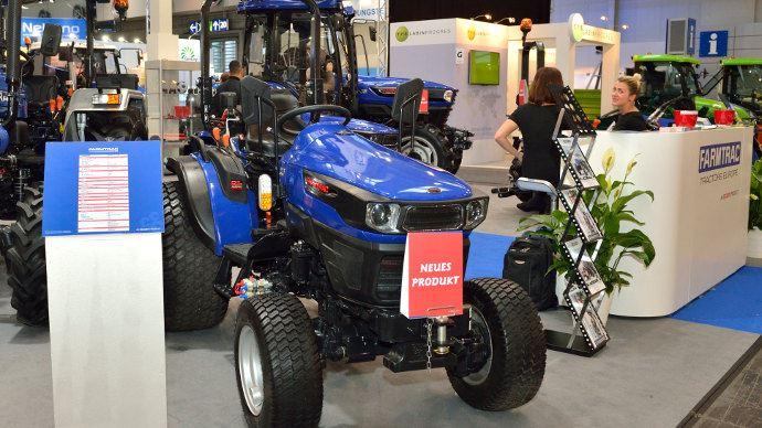 Farmtrac 26E, l'Inde aussi propose des tracteurs électriques