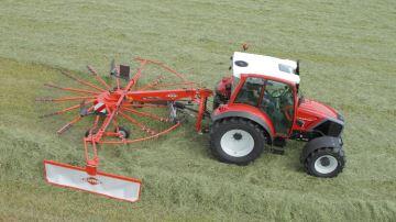 Andaineur Kuhn GA mono-rotor: une gamme plus simple d'utilisation