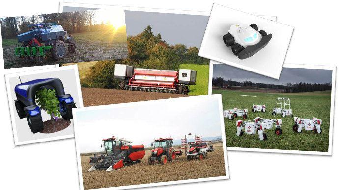 La famille des robots agricole s'agrandie encore sur le Fira 2017