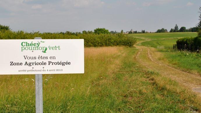 Zone agricole protégée.