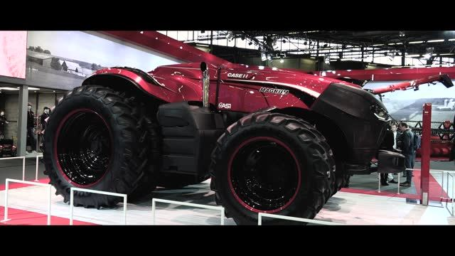 Le prototype Case IH autonome