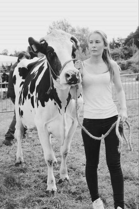 Emmanuelle, deuxième dauphine de miss agri junior 2018