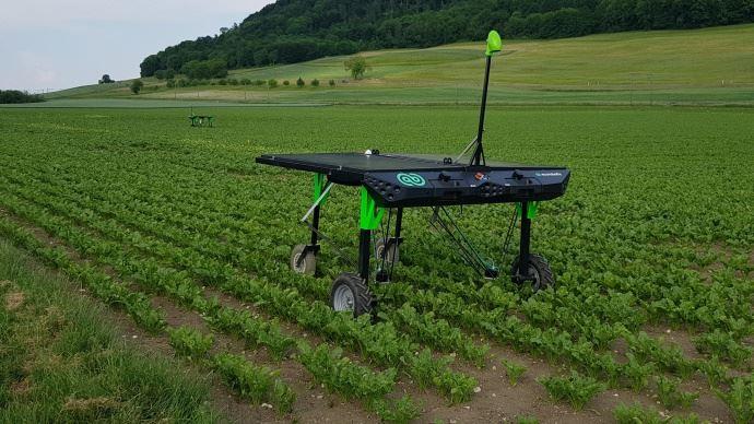 Robot de désherbage Ecorobotix