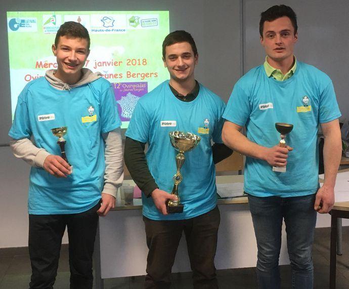 Lauréats des Ovinpiades Hauts-de-France 2018