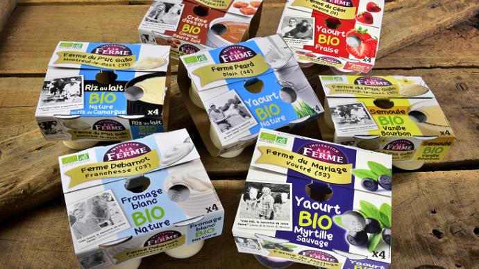 Les yaourts bios fermiers produits par les 21 producteurs sont commercialisés sous la marque «Invitation à la ferme» dans plus de 600 points de vente.