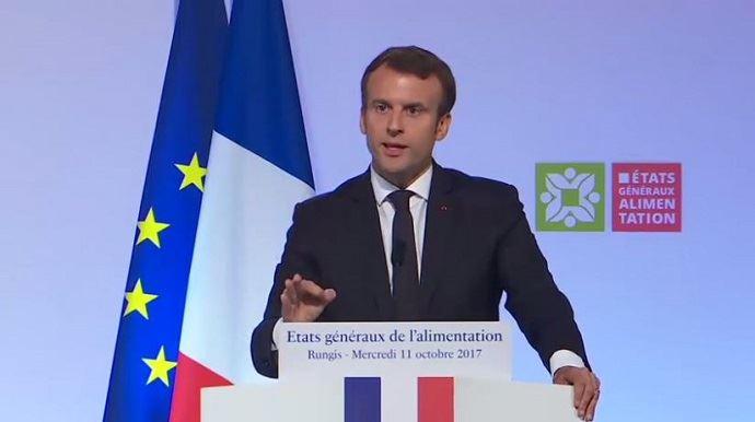 Mouvement dans les prisons : Emmanuel Macron soutient