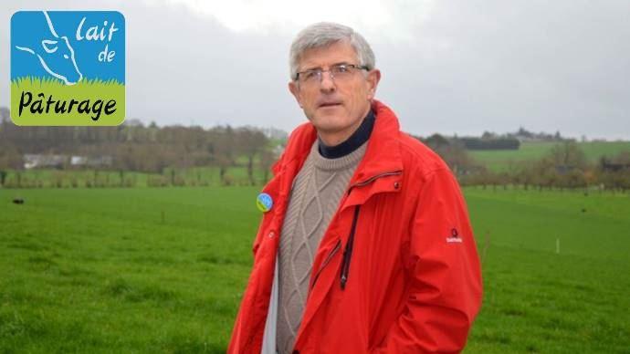 Marcel Denieul, éleveur et président de l'association Lait de pâturage