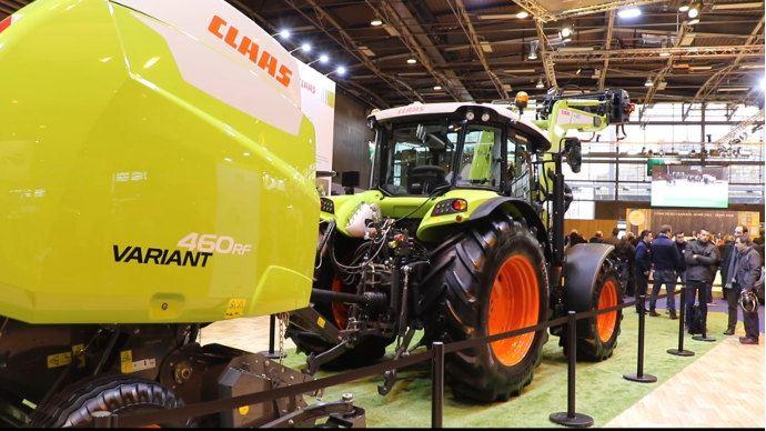 Salon de l agriculture o sont les tracteurs et autres - Salon de l agriculture machine agricole ...