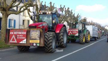 Les agriculteurs manifestent contre le projet d'accord de libre-échange