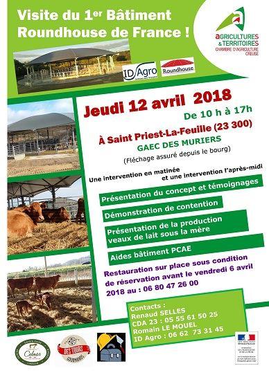 Porte ouvertes de la première Roundhouse de France