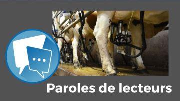 Le prix du lait, un sujet qui met les éleveurs en ébullition