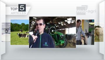 L'essai du John Deere 5R par Frédéric Anty passionne les éleveurs