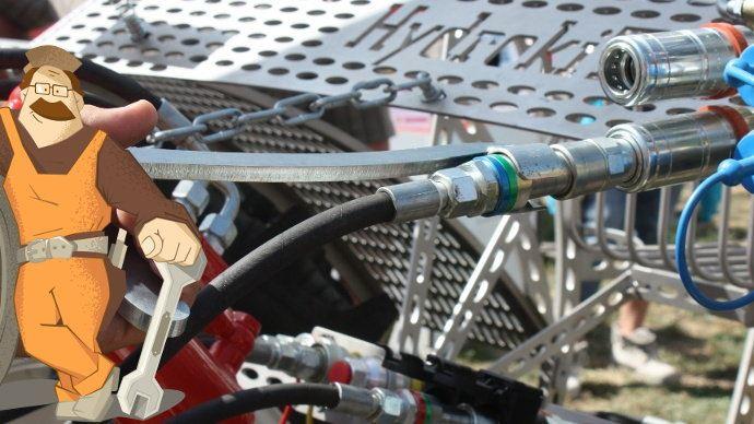 Cliphydo de Kydrokit pour facilité la manipulation des distributeurs hydrauliques