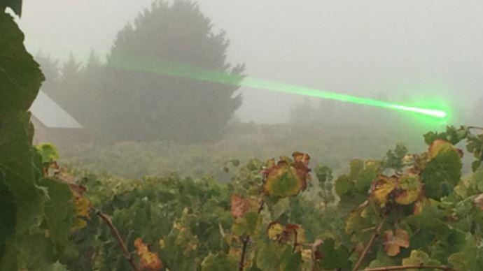 L'épouvantail laser de Agrilaser Autonomic