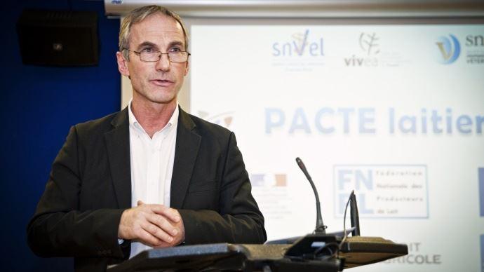 Thierry Roquefeuil pour la journée mondiale du lait