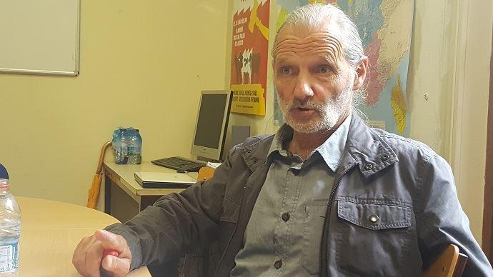 Guy Kastler, représentant de la commission Semences à la Confédération paysanne, le 19 juin 2018.