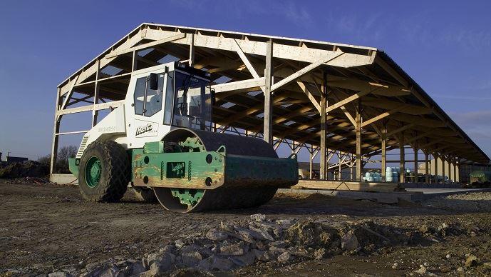 Le nombre de permis de construire sur zone agricole a baissé au 2e trimestre 2018, mais les projets concernent des surfaces plus grandes.