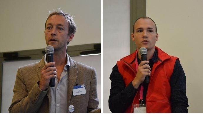Loic Madeline et Niels Bize
