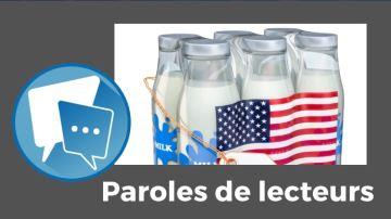 Le prix du lait payé aux éleveurs américains fait bouillir les lecteurs