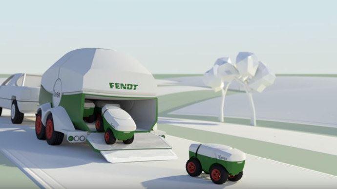 Les robots en grandes cultures préparent leurs débarquement comme ici le projet Xaver de Fendt