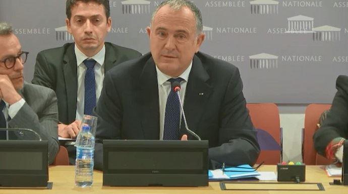 Didier Guillaume, devant les députés de la commission des affaires européennes à l'Assemblée nationale le 14 novembre 2018.