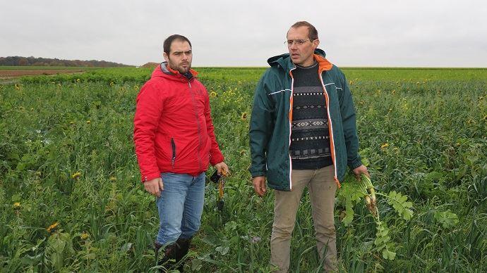 De gauche à droite: Guillaume Lecuyer et Guillaume Bruniaux