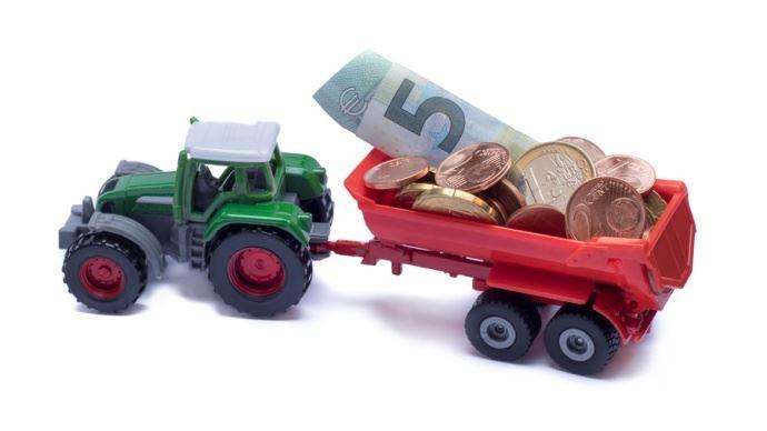 tracteur argent