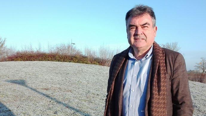 Nicolas Jacquet, président de France Grandes cultures, nouveau nom de l'OPG, la section spécialisée de la Coordination rurale, lors du congrès de l'organisation jeudi 10 janvier 2019.